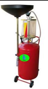 Best 8 Bar Mobile 1.6L Waste Oil Drainer Extractor With Lift Tank wholesale