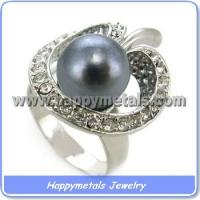 Best Fashion pearl finger ring wholesale