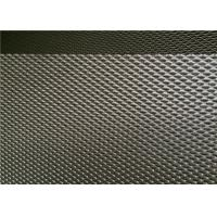 Cheap DVA Thick Steel Mesh For Security Hinged , Sliding Screen One Way Privacy Mesh for sale