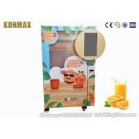 China Durable Orange Juice Vending Machine For Supermarket , Fruit Juice Vending Machine on sale