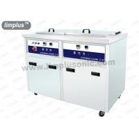 Best 130 Liter 1800w Dual Slot Stainless Steel Ultrasonic Cleaner Machine Dring Tank SUS316L wholesale