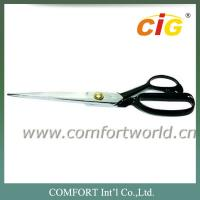 China 8 inch to 12 inch Stainless Steel Sharp Tailor Scissors Professional , Sewing Scissors on sale