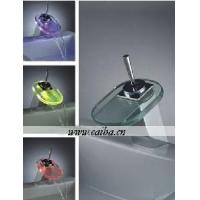 Best Single Handle LED Waterfall Basin Faucet wholesale