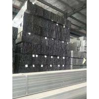China Galvanized Thin Wall Square Metal Tubing , Flat End Square Hollow Section on sale