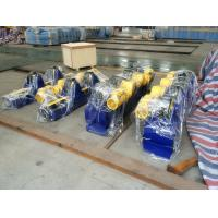 Buy cheap 5T Bolt Conventional pipe Welding Rotator Fixed Type With PU Wheels product
