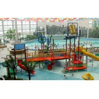 Best Custom Outdoor Safe Children water playground Park Ground Aquatic Play Structures wholesale