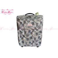 China Lightest Weight 21 inch luggage / suitcases with 4 wheels , Koala Climbing Bamboo Design wholesale