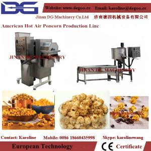 Best automatic Cretors popcorn pop corn making machine wholesale