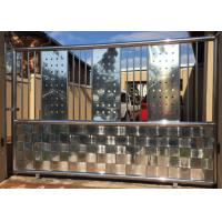 China High Strength Stainless Steel Front Door , Stainless Steel Entry Door Customized Colors on sale