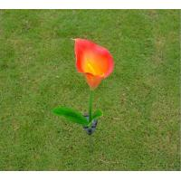 China Solar Flower Calla Lily Walkway Lights, Outdoor LED Solar Powered Garden Lamps for Night Lighting on sale