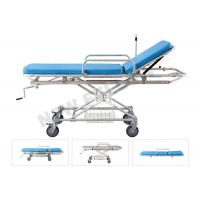 China Aluminum Alloy Detachable Hospital Medical Transfer Patient Stretcher Trolley on sale
