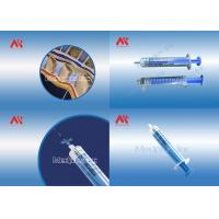 China 5ML 7ML 10ML  Loss Of  Resistance Syringe Luer Lock With Resicles on sale