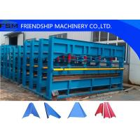 Best Hydraulic Plate Bending Roll Forming Machine for Factory / Warehouse / Garage wholesale