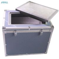 China Insulation Camping Ice Cream Medical Cool Box With -22 C Low Temperature Ice Brick on sale