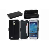 Best Flip Style Mobile Phone Leather Case For Samsung Galaxy S4 mini i9190 i9192 i9195 wholesale