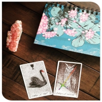 Cheap Made Custom Silver Edges Printing Tarot And Oracle Cards for sale