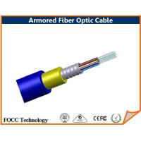 Best Direct Burial Armored Multimode Fiber Optic Cable With Terminated Connector wholesale