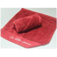 Best Red Color Bath Towel Set Face Towel Hand Towel Bath Towel for Hotel Spa Beach wholesale