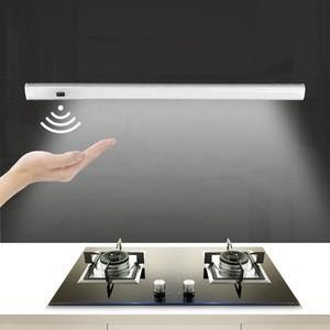 China 10 LED Wireless Sensor Operated Wardrobe Bar Indoor LED Night battery motion cabinet light on sale