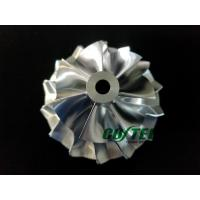 Best S300 62.98/87.38mm Billet Compressor Wheel 7+7 Blades 1387-123-2001 Turbo wholesale