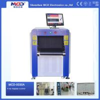Buy cheap High Resolution Color Airport X-Ray Scanning Machines Small Size product