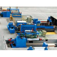 Best PLC Control Rewind Steel Metal Slitting Machine With Human - Machine Interface wholesale