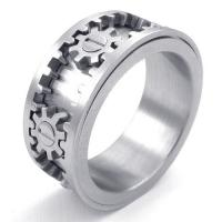 Best Tagor Jewelry Super Fashion 316L Stainless Steel Casting Rings Collection PXR007 wholesale