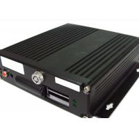 Best G - Sensor GPS HDD Mobile DVR  4 Channel  With 4 - Ch Audio Input For Bus wholesale