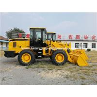 Cheap 3000kg Loading Capacity Wheel Heavy Equipment Loader With 127kn Breakout Force for sale