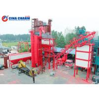 China 100 - 120 Ton Stationary Asphalt Concrete Plant , Double Mobile Asphalt Drum Mix Plant on sale