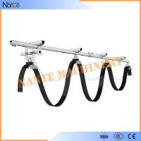 Galvanized steel C Track Festoon System C32 With Cable Carrier