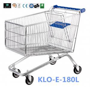 Best Small 80L UK Supermarket Shopping Cart / Ladies Shopping Trolleys wholesale