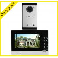 China Clear Night Vision HD Intercom Video Door Phone With ID Card / Password on sale