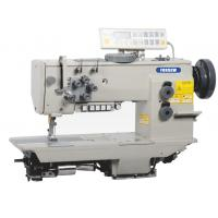 China Double Needle Compound Feed Heavy Duty Sewing Machine with Automatic Thread Trimmer on sale