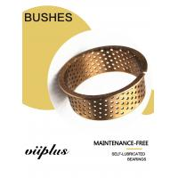 Buy cheap Mining CuSn8 Bronze Bearing Cylindrical With Holes 092 Flanged Sleeve Bushes from wholesalers