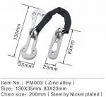 Best Zamak Security Anti Theft Chain Door Fitting Hardware For Hotel / Interior Swing Door wholesale