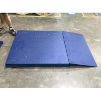 China 5 Ton Digital Platform Floor Scale With Ramp / Portable Industrial Floor Scales on sale