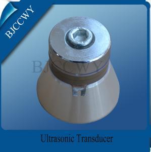 China Ultrasound Washing Equipment Parts 28 Khz 100w High Power Ultrasonic Transducer on sale