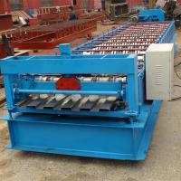 Best Hydraulic Cutting Steel Roll Forming Machine For Aluminium Panel Container Board wholesale