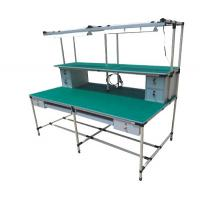 Best 3D Drawing Pipe Workbench Movable 100-120kg Loading Capacity Die Casting Aluminium wholesale