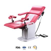 China Electrical double control gynecological operating table with two foot support on sale
