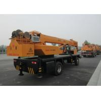 Quality 25 Ton Knuckle Boom Truck Mounted Crane Driven By Hydraulic XCMG for sale