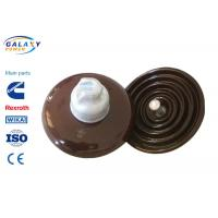 China Pollution Free Standard Disc Type Insulator , Overhead Line Insulators For High Voltage on sale