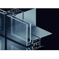 Best Strong Adaptability Stainless Steel Curtain Wall With Good Water / Air Tightness wholesale