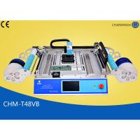 Buy cheap Chmt48vb Table Top Pick And Place Smt Machine With 58pcs Feeders product