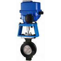 Best High Performance Electrically Actuated Butterfly Valves with Metal-seated Sealing 300lbs wholesale