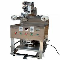 Best KIS-1 Table Type Semi Automatic Tray/cup Sealing Machine with gas filling and expiration date printer wholesale