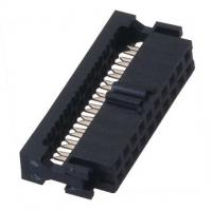 Best 2.0mm IDC Connector Socket WCON Female PBT black Cable Connector wholesale