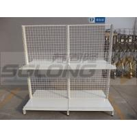 Best Cash Counter Shelf End Cap Supermarket Gondola Shelving 30KG - 50KG Capability wholesale