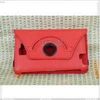 Best 360 Degree Rotatable Litchi Pattern Leather Case for Samsung Galaxy Note I9220 wholesale